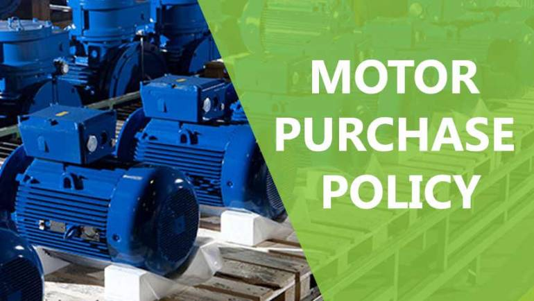 Developing your motor purchase policy
