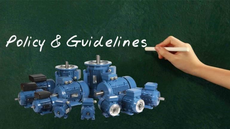 Establishing motor repair guidelines